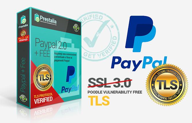 Modulo PayPal TLS 2.0 Prestashop