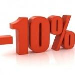 Sconto 10% promozione moduli prestashop