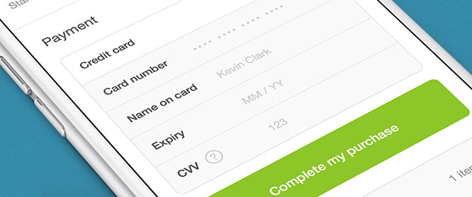 Mobile optimized checkout