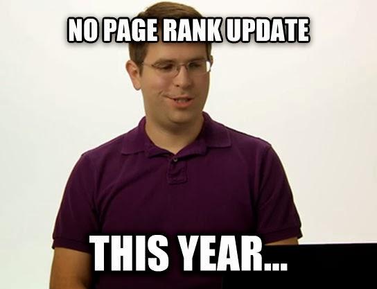 Page Rank update dead