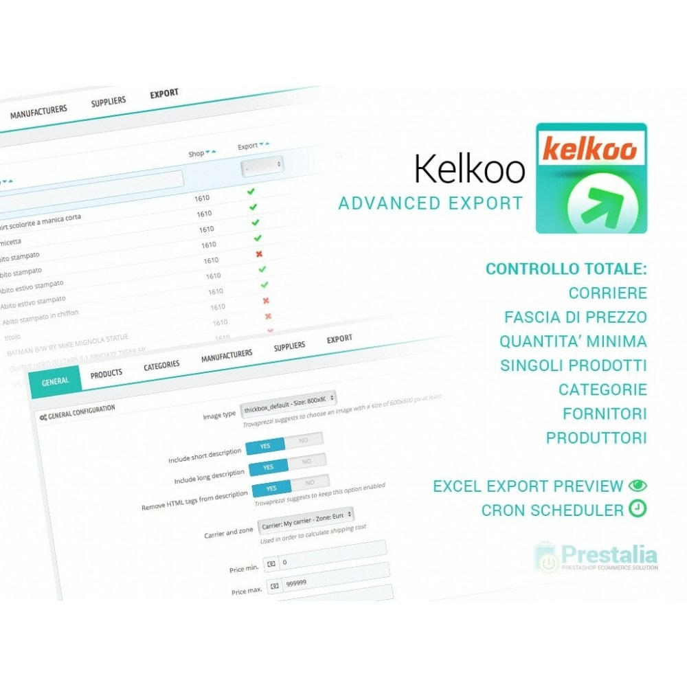 kelkoo-export-advanced-filters