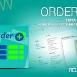 Aumenta la produttività con la lista ordini con funzionalità avanzate