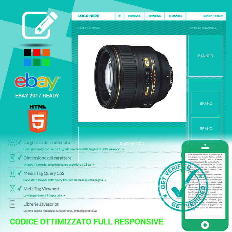 template eBay